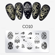 Image-Plate Nail-Art-Stamp-Template Mandala Manicure-Tools Flower Butterfly Designs New