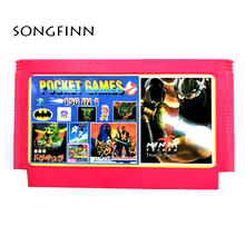Qualidade superior 150 em 1 para 60 pinos 8 bit vídeo game console retro cartão clássico