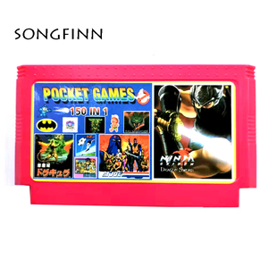Image 1 - Top Quality 150 in 1 for 60 Pin 8 Bit Video Game Console Retro Classic Card