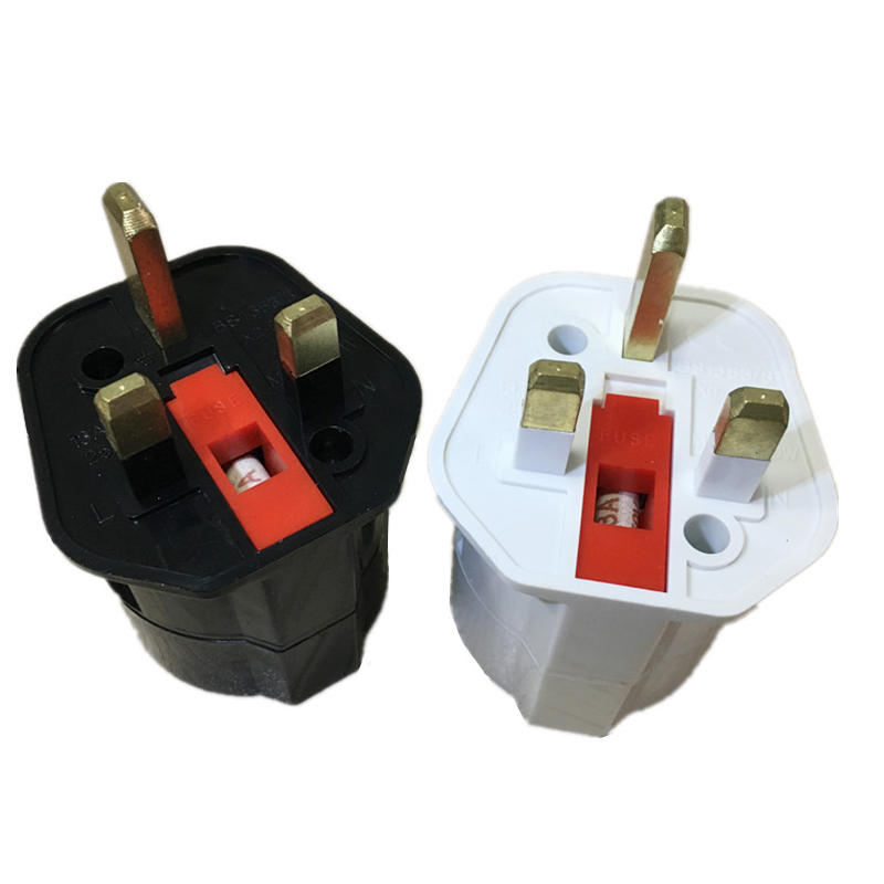 EU Euro 2 Pin naar UK 3 Pin Plug AC Universele Adapter Travel Converter Europese