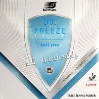 Sunflex dr. freeze arco prova anti arco (anti laço  anti rotação  defensiva) anti borracha de energia com esponja 1.25mm bolo esponja luz|Raquetes de tênis de mesa| |  -