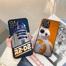 BB8 BB 8 R2D2 Robot Phone Case For iphone 5s 6 7 8 11 12 plus xsmax xr pro mini se Cover Fundas Coque