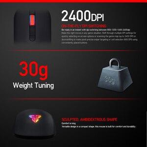 Image 3 - FANTECH G10 professionnel Gmae câble souris réglable 4800 DPI rvb 4 boutons souris optique jeu pour ordinateur portable jeu souris