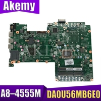 for HP Pavilion 15 B 15 Z Series 709175 001 709175 501 709175 601 DA0U56MB6E0 UMA A70M A8 4555M Laptop Motherboard Tested|Motherboards|Computer & Office -