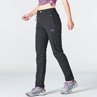 Походные женские штаны лёгкие и непромокаемые с карманами 1