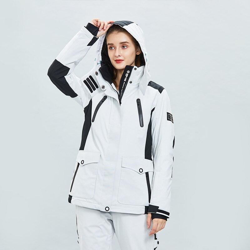 2019  Ladies Sports Ski Women Snowboarding Jacket  Waterproof Cold Proof European And American Fashion Warm  Cotton Jacket