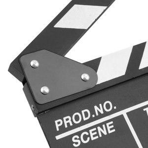 Director Video Scene Clapperboard TV Movie Clapper Board Film Slate Cut Prop hot new Camera & Photo Accessories supply