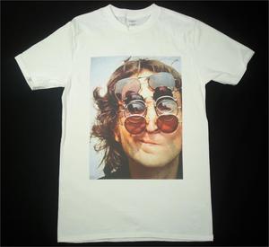 John Lennon белая футболка размеры в наличии S-3Xl Мужская футболка