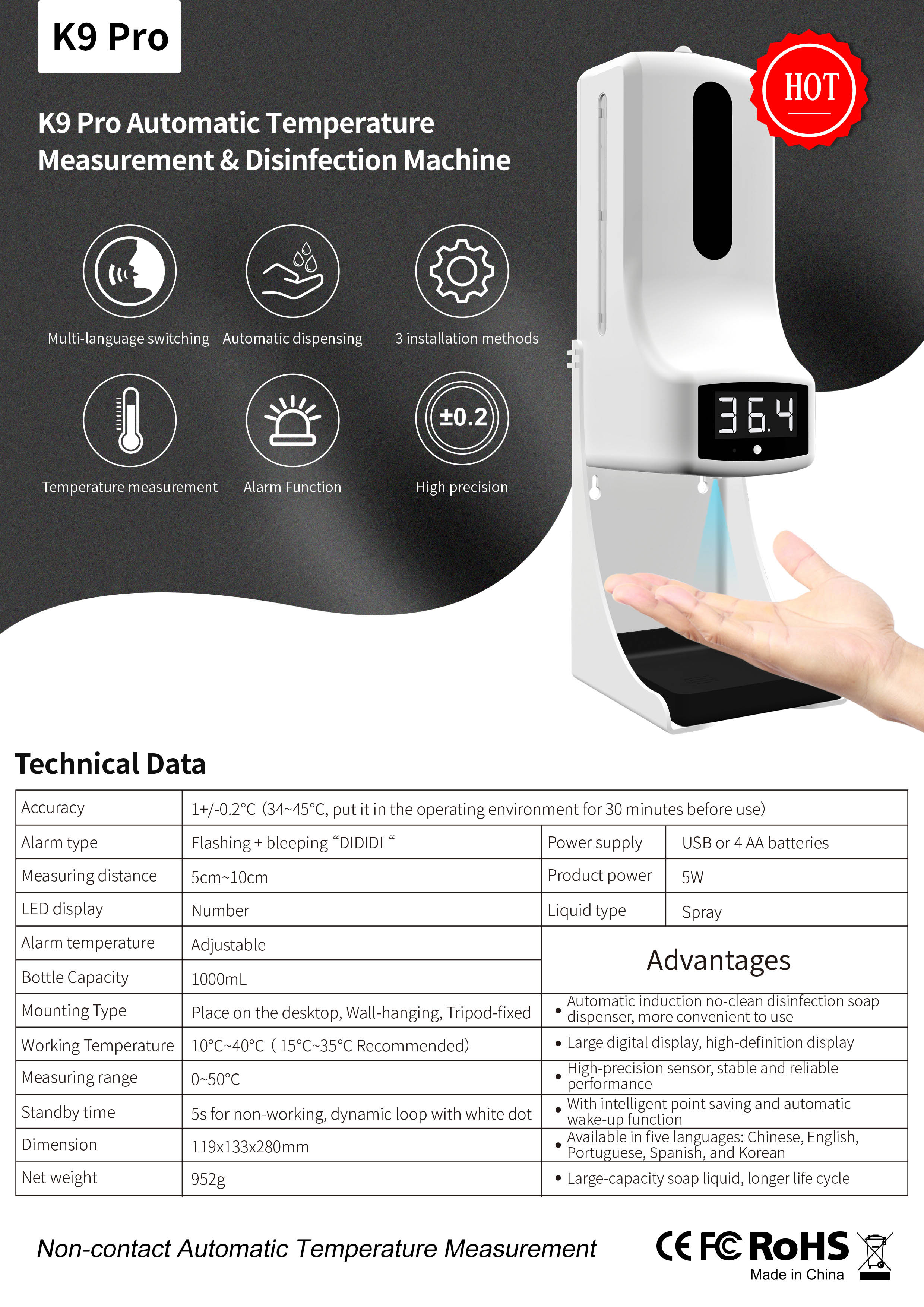 digital mãos lavagem desinfetante livre