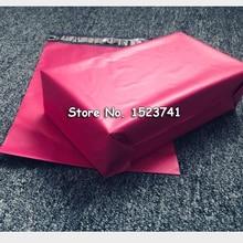 100 шт 15x24 см/6x10 дюймов розовый поли почтовые бутик сумки кутюр конверты