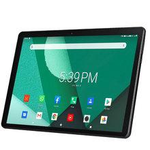 Novo tablet pc 10.1 Polegada android 9.0 tablets octa núcleo google play 3g 4g lte chamada de telefone gps wifi bluetooth 2.5d vidro temperado