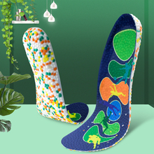 3ANGNI Elastic Men/Woman Orthotic Arch Support Shoe Insert Flat Feet insoles for shoes Comfortable Fabric shoe Orthopedic insole