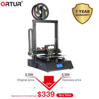 Ortur4-V1/Ortur4-V2 impressora 3d diy kit de alta precisão auto montagem suporte auto auto nivelamento filamento corrida-para fora detecção de energia