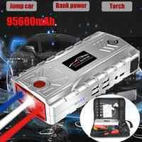 95600mAh 4USB Typ-C Auto Starthilfe Notfall Ladegerät Batterie Power Bank Pack Booster 12V 800A Ausgangs gerät