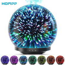 Oils-Humidifier Oil-Diffuser Waterless Glass Ultrasonic Premium Led-Night-Light 200ml