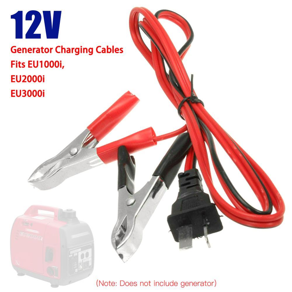 Câble avec plomb de charge pour Honda générateur EU1000i, EU2000i, générateur de valise 12v, système de démarrage de batterie