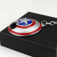 Captain America Shield Bottle Opener Keychain 3