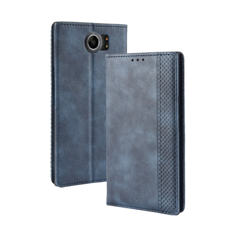 For Blackberry Priv Case Blackberry Priv Case Flip Magnetic Wallet PU Leather Back Cover Phone Case For Blackberry Priv Case 5.4(China)