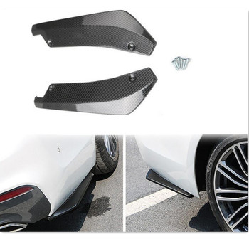 2PCS Car Rear Bumper Lip Spoiler Diffuser Splitter FOR bmw m4 x5 e70 golf 7 e92 m3 w164 mercedes benz smart 451 AUTO accessories image