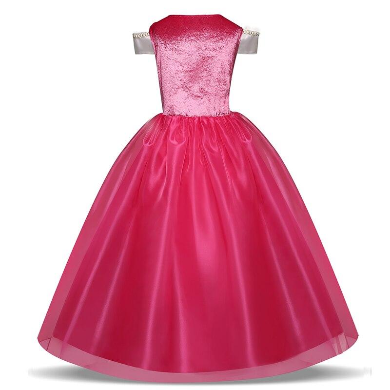 Girl Clothing Sleeping Cosplay Princess Carnival Halloween Costume Girl Party Dress Beauty Christmas 4 8 10 Years 3