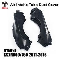 Motorcycle Black Air Intake Tube Pipe For SUZUKI GSXR600 GSXR750 GSXR 600 750 2011 2012 2013 2014 2015 2016|Full Fairing Kits| |  -
