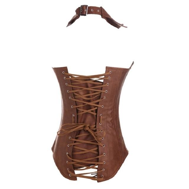 Купить женский корсет в стиле стимпанк бюстье длинные overbust выше картинки цена