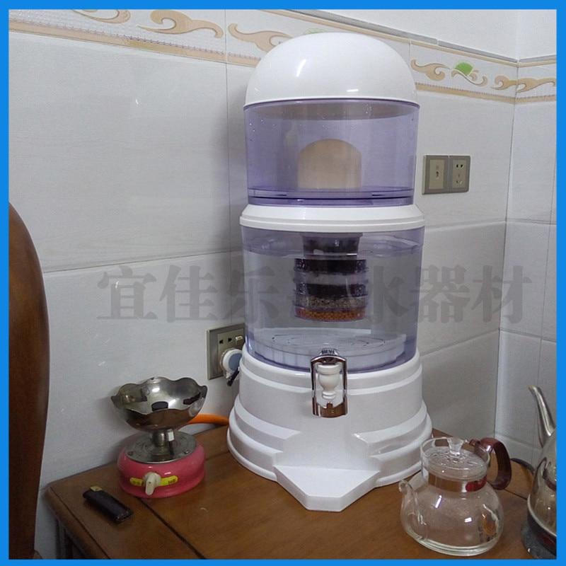 16L Alcalina Beber Direto Balde Dispensador de Água purificador