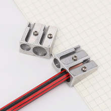 Новая мини металлическая двойная точилка для карандаша ручная