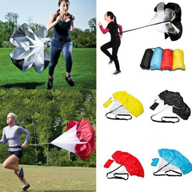 Professional Speed Training Resistance Running Drag Parachute Soccer Fitness Drag Chute Soccer Footbal Physical Sports Equipment