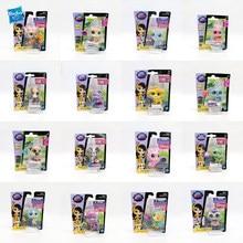 Hasbro genuíno lps littlest pet shop único pacote figura de ação elf monstro modelo boneca fora impressão coleção brinquedo presente