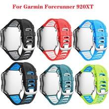 Jker pulseira de silicone para garmin forerunner 920xt pulseira corrida natação ciclo treinamento esporte relógio banda