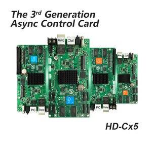Image 3 - Karta asynchroniczna HD C15 HUB75 interfejs danych RGB pełny kolor karta kontrolna wyświetlacza led, 112x1024 pikseli, karta kontrolna WIFI LAN USB
