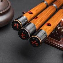 Raffinato Giapponese flauto piccolo flauto strumenti musicali di bambù dizi senza dimo