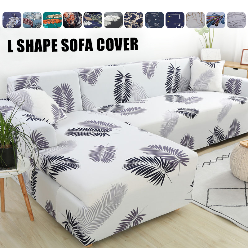 Please Order 2pieces Sofa Covers if is L Shaped Sofa Cover Stretch Sofa Cover for Living Room Chaise Longue Sectional Slipcover Sofa Cover    - AliExpress