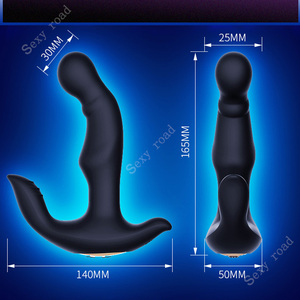 Image 3 - Vibrerende prostaat stimulator mannelijke anus plug waterdichte sterke motor docking anus siliconen speelgoed anale speelgoed gay sex toys voor mannen