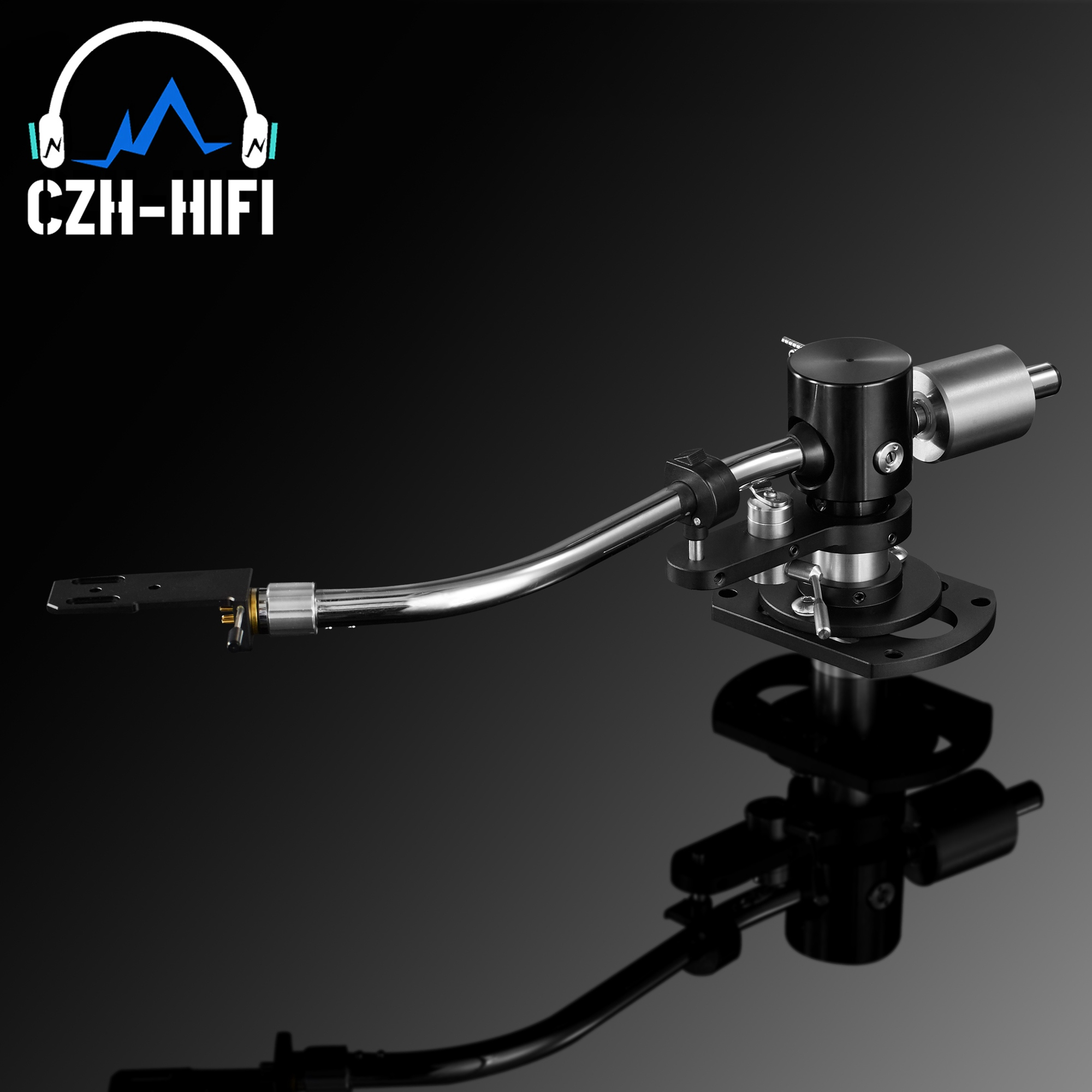 1set EIZZ Premium TONEARM Tone Arm Lifter LP Turntable Record Player DISC Vinyl  VTA Azimuth Ruler Vintage Audio HiFi DIY