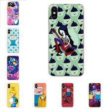 Adventure Time For Huawei P7 P8 P9 P10 P20 P30 Lite Mini Plus Pro Y9 Prime P Smart Z 2018 2019 Soft Protective Case(China)