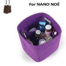 Для nano Ноэ Вставка сумки Органайзер для макияжа Сумки из натуральной