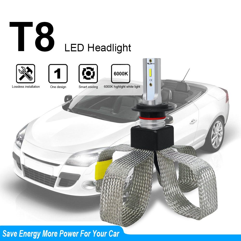 Image 2 - LED H4 H7 Car Headlight Bulbs Car Light Accessories LED H1 9006 hb4 9005 H11 Automotivo Headlamp Lights 6000K Fog Lights-in Car Headlight Bulbs(LED) from Automobiles & Motorcycles