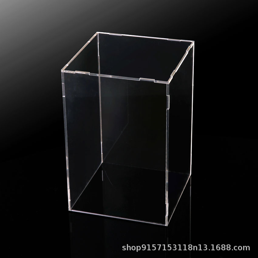 Assembled Display Box Sedan Feng Guan Only Display Box Acrylic Transparent Dust Cover Metal Dust Cover Model