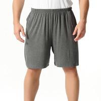 Pijama de verano para hombre, pantalones cortos informales de algodón, holgados, para estar en casa, ropa de dormir, talla grande 4XL 7XL