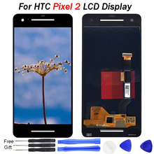 100% tested 5.0 INCH For Google Pixel 2 LCD Display Touch Screen Digitizer Assembly Replacement For Google Pixel 2 Display все цены