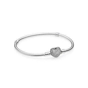 YPD35 925 Silver Zircon Bracelet Girl Birthday Party DIY Bracelet Gift