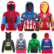 Superheros Boys Hoodies Christmas Sweatshirt Kids Sportswear Little Boy Tracksuit Halloween Makeup