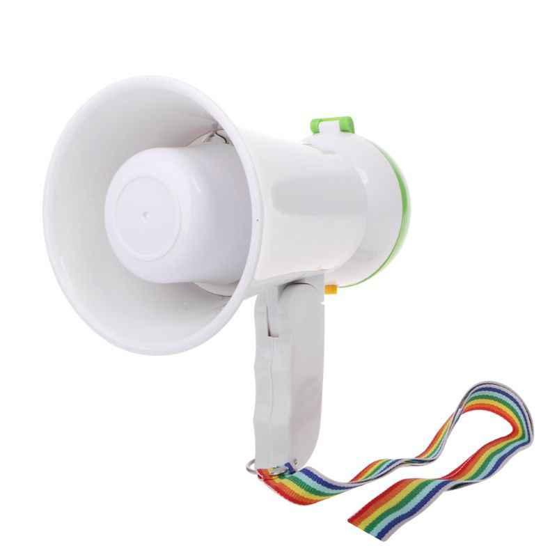 ミニハンドヘルドメガホン拡声器拡声器アンプ