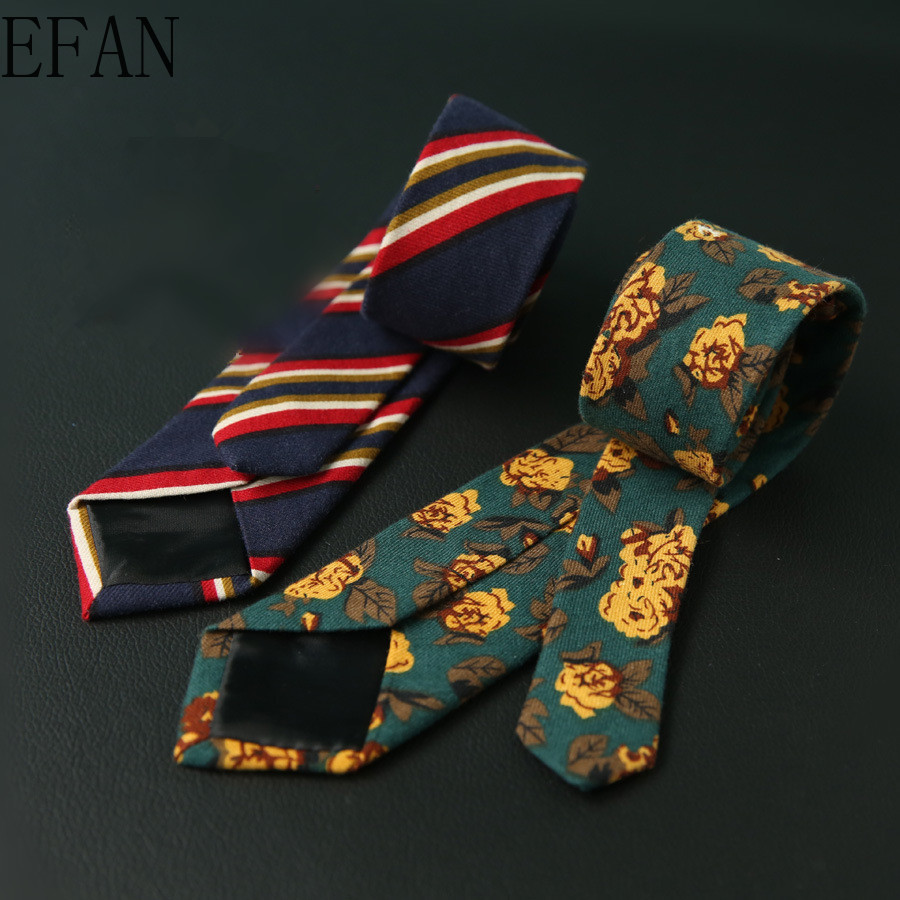 6cm Factory New Men's Casual Skinny Slim Ties Classic Cotton Woven Party Neckties Fashion Man Tie For Wedding Business Male Tie