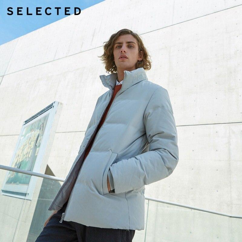 اختيار الرجال سترة شتوية قصيرة أسفل معطف الرياضة عارضة الملابس الدافئة SP  418412561-في جواكت قصيرة من ملابس الرجال على  مجموعة 1
