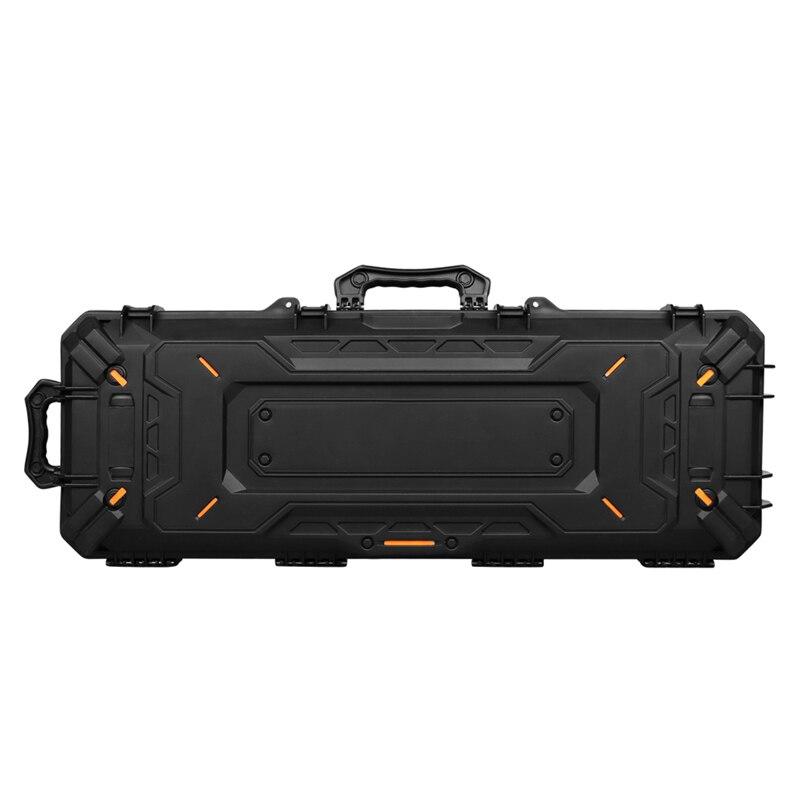 OneTigris Long Gun/Rifle/GoPro Protective Case + Customizable Foam Watertight Hard Shell Case