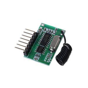 Image 4 - AK 06C bezprzewodowy szeroki zakres napięcia kodowania nadajnik dekodowania odbiornik 4 kanałowy moduł wyjściowy dla 315/433Mhz zdalnego sterowania