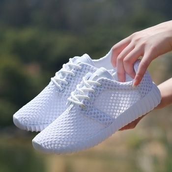 2020 New Mesh Women Flat Shoes Lightweight Women Sneakers Breathable Ladies Casual Shoes Chaussure Femme Calzado